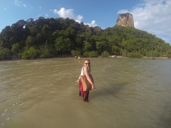 Railay Beach: Be prepared to rough it a little. Only accessible via boat.