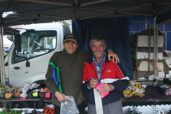Old faces: Many of the stall holders have been operating for decades.